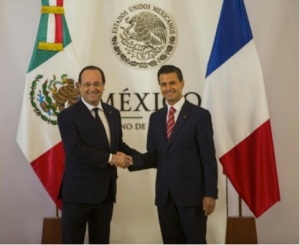 hollande y peña nieto