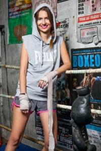 Fotografía: Manuel Peris Asistente fotografía: Vir Gómez Estilismo: Paula Heredero Lugar: Club de Boxeo La Unión, Castellón.